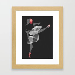 Suspended Movement II Framed Art Print