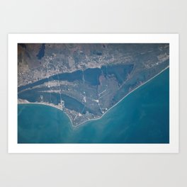 835. Merritt Island, Brevard County, Florida Art Print