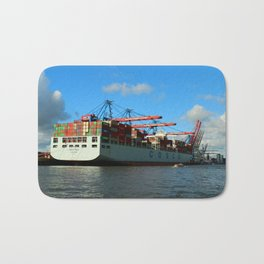 Cosco Cotainer Ship Bath Mat
