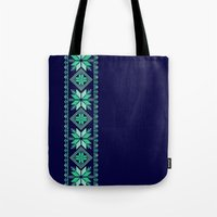 nordic Tote Bags featuring NORDIC by Oksana Smith