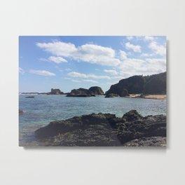 Okinawa, Japan Beach Ocean View 2 Metal Print