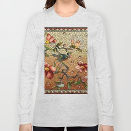 Vintage Stain Glass Long Sleeve T-shirt