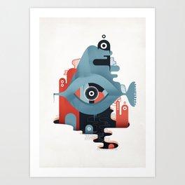 Abyss n°2 Art Print