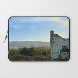 Beauty Beyond the Crumbling Walls Laptop Sleeve
