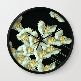 Killer Owls Wall Clock