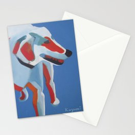 Laughing Dog Stationery Cards