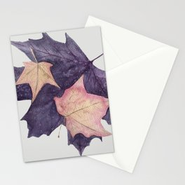A Walk Among the Maples #maple #leaf Stationery Cards