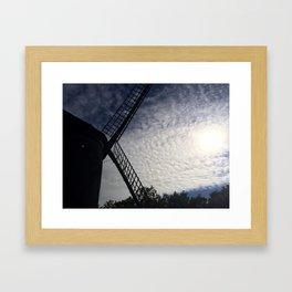 Windmill II Framed Art Print