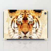 marley iPad Cases featuring abstract tiger by Ancello