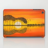 guitar iPad Cases featuring Guitar by OLHADARCHUK