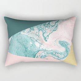 Marble Colors Rectangular Pillow