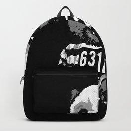 Panda in jail Backpack