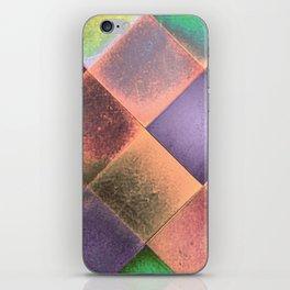 CHECKED DESIGN II-v12 iPhone Skin