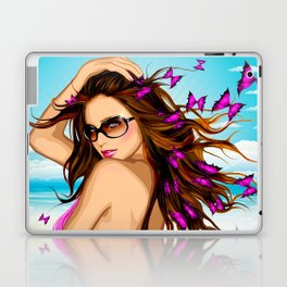Butterfly Beach Laptop & iPad Skin