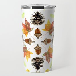 Tree Mandala 1 - Watercolor Travel Mug