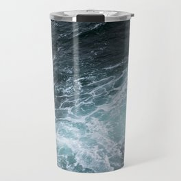 Mendocino High Tide Waves Travel Mug