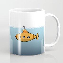 A submarine for exploring Coffee Mug