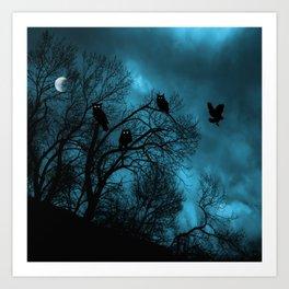 Night Wisdom Art Print