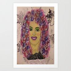 Meet Kimberly Art Print