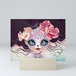 Camila Huesitos - Sugar Skull Mini Art Print