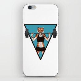 Animal Workouts: Tigress iPhone Skin