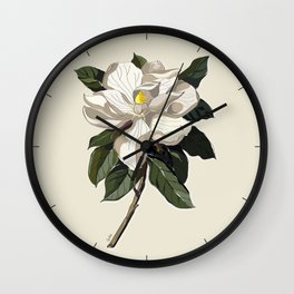 Within a Flower Wall Clock