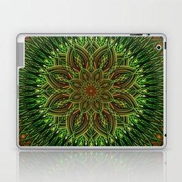 Earth Flower Mandala Laptop & iPad Skin