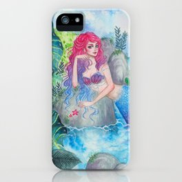 Mermaid Lagoon iPhone Case