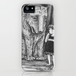 Curious iPhone Case