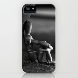 the kidnapped manikin iPhone Case