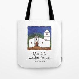 Iglesia de la Inmaculada Concepcion Tote Bag