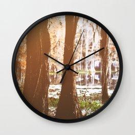 Spirit of the Suwannee Wall Clock