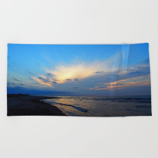 PEI Beach Sunset Beach Towel