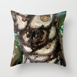 Prickly Palm Throw Pillow