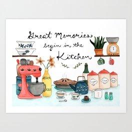 Great Memories Art Print