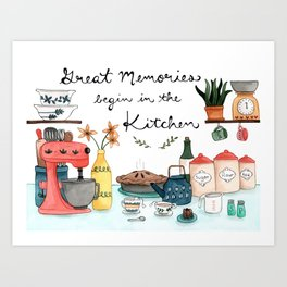 Great Memories Art Print