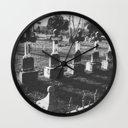 Cemetery Wall Clock