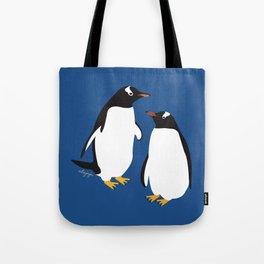 Gentoo penguin Tote Bag