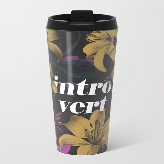 Introvert Metal Travel Mug