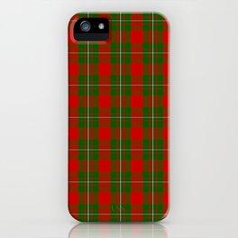 MacGregor Tartan Plaid iPhone Case