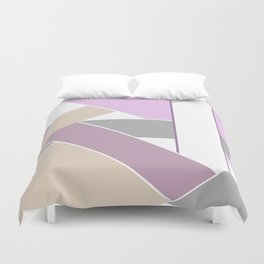 Abstract pattern . Geometric shapes .2 Duvet Cover