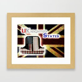 UKnighted States 4.0 Framed Art Print