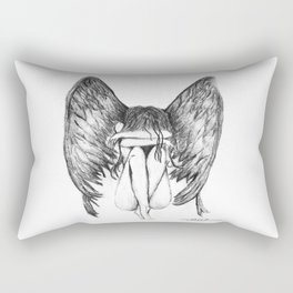 She Weeps- Original Rectangular Pillow
