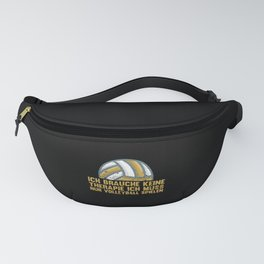 Volleyball Therapy Team Play Fanny Pack