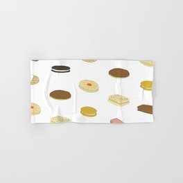 biscui - biscuit pattern Hand & Bath Towel