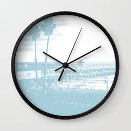 San Clemente Pier, Southern California Wall Clock