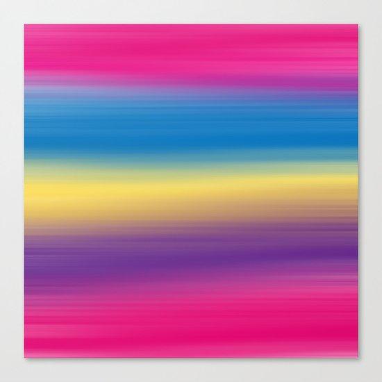 Color Winds Canvas Print