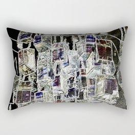 Abstract cityscape Rectangular Pillow