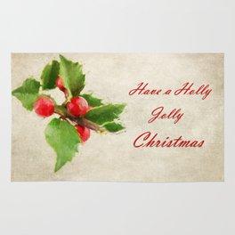 A Holly Jolly Christmas Rug
