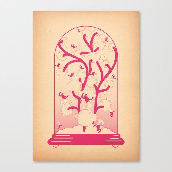 teca Canvas Print